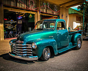Classic Truck Photos - Green Dreams by Perry Webster