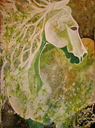 Amy Sorrell Art - Green Envy by Amy Sorrell