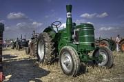 Green Field Marshall Print by Rob Hawkins