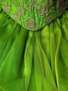 Michael Sweet Metal Prints - Green Frock Metal Print by Olden Mexico