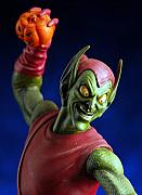 Featured Sculpture Originals - Green Goblin close up by Craig Incardone