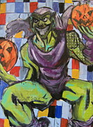 Goblin Mixed Media - Green Goblin by Paul Rolfes