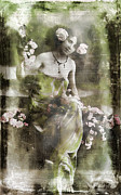 Green Dress Framed Prints - Green Goddess Framed Print by Marcie Adams Eastmans Studio Photography