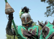 Knights Photos - Green Knight by Clarence Alford