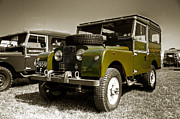 Petrol Green Framed Prints - Green Landy Framed Print by Rob Hawkins