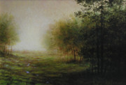 New England Paintings - Green by Larry Preston