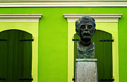 Historic Statue Photo Posters - Green Poster by Mauricio Jimenez