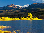 Pauls Colorado Photography Prints - Green Mountain Reservoir Rugged Print by Paul Gana