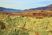 Blue Basin Overlook Prints - Green Mountains Print by Adam Jewell