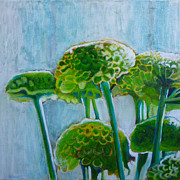 Demo Originals - Green Mums by Sandrine Pelissier