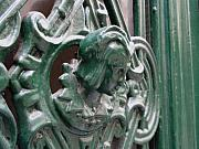 Door Knockers And Handles - Green Nobility F by Edan Chapman