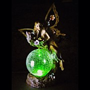 Fantasy Art - Green Orb Fairy. #webstagram by Jason Michael Roy