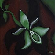 Bonnie Kelso - Green Orchid