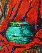 Hannah Curran - Green Pot Pallet Knife