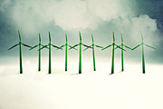 Digitally Generated Image Photos - Green Power by Image by Catherine MacBride