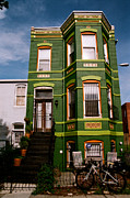 Claude Taylor - Green Rowhouse