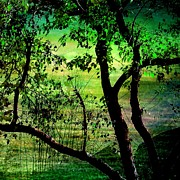 Green Print by Shirley Sirois