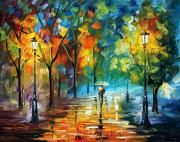 Leonid Afremov - Green Tree