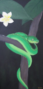 Joanne Seath - Green Tree Python