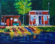 LJ Newlin - Green Valley Lake Boat...