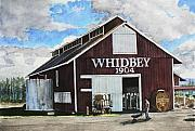 Whidbey Island Prints - Greenbank Farm Print by Perry Woodfin