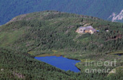 Mountain Cabin Prints - Greenleaf Hut - White Mountains New Hampshire  Print by Erin Paul Donovan