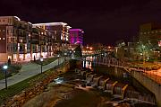 Reedy Prints - Greenville and the Reedy River Print by Steve Shockley