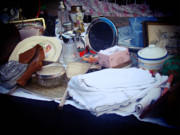 Flea Market Photos - Greenwich Market by Rhianna Wurman