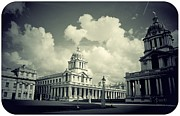 Royal Naval College Metal Prints - Greenwich Old Royal Naval College Metal Print by Brian Benson