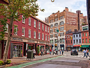 Greenwich Photos - Greenwich Village by June Marie Sobrito