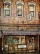 Greenwich Village Meat Market Print by Kathy Jennings