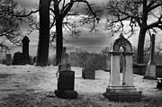 Movies Photo Originals - Greenwood Cemetery by Phantasmagoria Photography