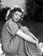 Garson Framed Prints - Greer Garson, 1942 Framed Print by Everett