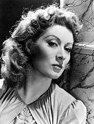 Greer Prints - Greer Garson Print by Everett