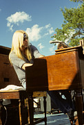 Rich Fuscia Art - Gregg Allman of The Allman Brothers by Rich Fuscia