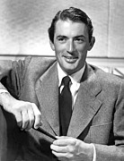Gregory Prints - Gregory Peck, 1947 Print by Everett