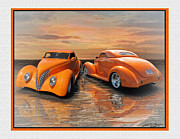 39 Ford Framed Prints - Gregs 39 Ford Framed Print by John Breen