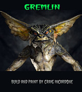 Movie Prop Originals - Gremlin Close Up by Craig Incardone