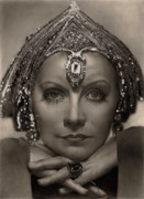 Garbo Framed Prints - Greta Garbo Framed Print by Consuelo Venturi