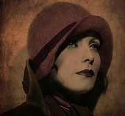 Marie Gale Art - Greta Garbo by Marie  Gale