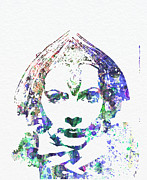 Alone Digital Art Metal Prints - Greta Garbo Metal Print by Irina  March
