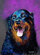 Canine Art Prints - Gretchen Print by Frances Marino