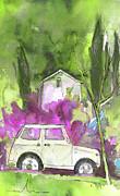 Greve In Chianti In Italy 02 Print by Miki De Goodaboom
