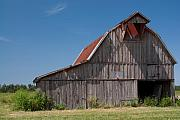 Arkansas Art - Grey Barn by Douglas Barnett