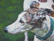 Sighthound Art - Greyhound by Lee Ann Shepard