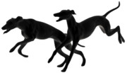 Decorative Originals - Greyhounds travelling at 45 MPH by Christine Till