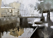 Grey Originals - Griboedov canal by Igor Nelubovich