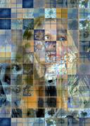 Photo Grids Art - Grids by Leslie Rhoades