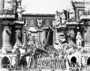 Wark Photo Framed Prints - Griffith: Intolerance 1916 Framed Print by Granger