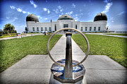Griffith Park Prints - Griffith Observatory 1 Print by Jessica Velasco